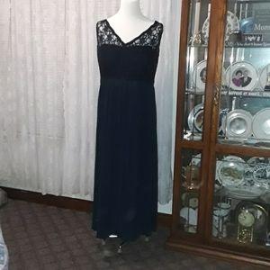 Bill Levkoff size 26 formal dress plus s Navy blue